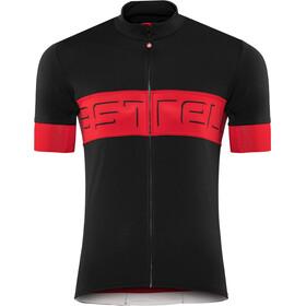 Castelli Prologo VI Koszulka z krótkim rękawem Mężczyźni, czarny/czerwony